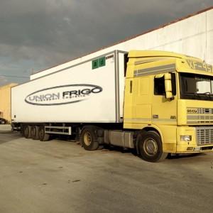 Union frigo trasporti e logistica trasporto merce - Transporter un frigo couche ...